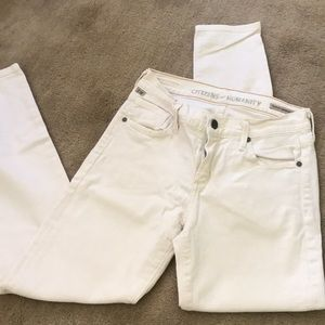 White citizens of humanity skinny jeans